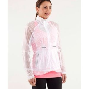Lululemon 'Run Wild' Translucent Lace Mesh Jacket